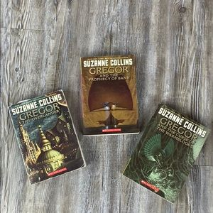 Gregor Series by Suzanne Collins Book 1-3
